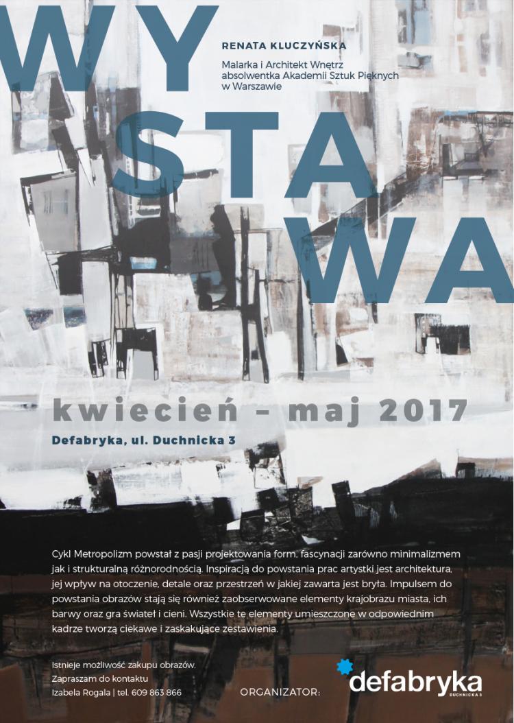Renata Kluczynska wystawa defabryka